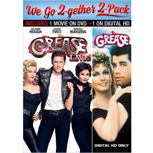 Grease LIVE! (DVD) / Grease (VUDU Digital Copy) (Walmart Exclusive) (With INSTAWATCH)