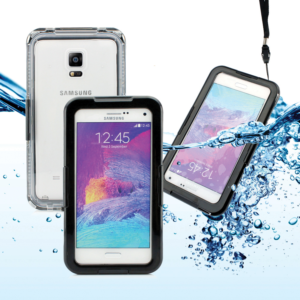 Waterproof Shockproof Dirt Snow Proof Durable Touch Screen Case Cover for Samsung Galaxy Note 4 3 2