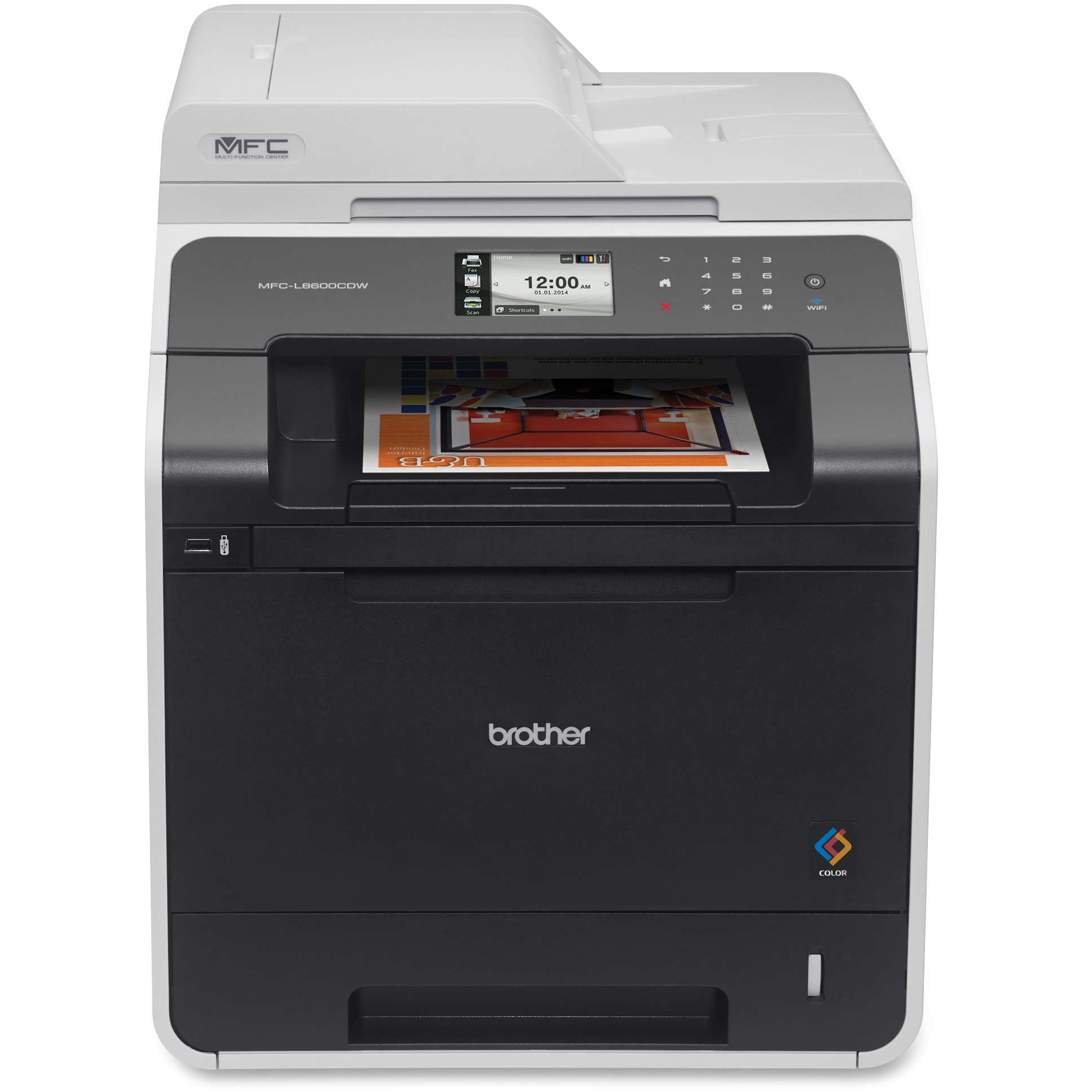 Brother MFC-L8600CDW Color Laser All-in-One with Wireless...