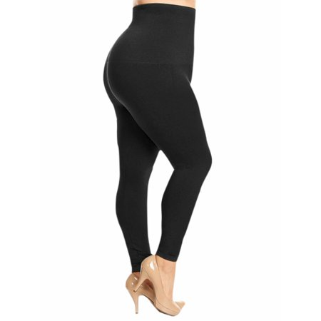 High Waist Compression Plus Size Leggings For Women](Skeleton Leggings Plus Size)