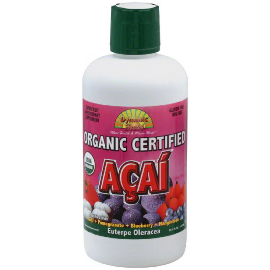 Dynamic Health Juice Blend, Organic Certified Acai, 33.8 FL OZ