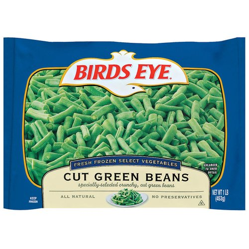 Birds Eye Cut Green Beans, 1 lb