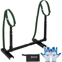 VEVOR Fully Adjustable Grooming Breeding Stand W Collars Apbt Pit Bull Bulldog