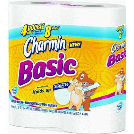 Merchandise 5595037 Charmin Basic 4 Roll Double Toilet Paper ...