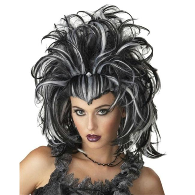 Costumes For All Occasions Mr177153 Wig Evil Sorceress Black White - image 1 of 1