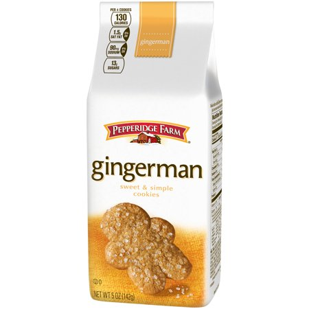 (3 Pack) Pepperidge Farm Gingerman Gingerbread Cookies, 5 oz. - Farm Town Halloween Farms