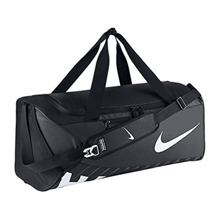 05cd8e4fad New Nike Alpha Adapt Crossbody Graphic LARGE Duffel Bag Black Black White
