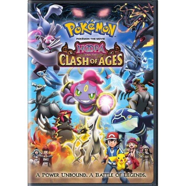 Pokemon Movie 18 Hoopa Clash Of Ages Other Walmart Com Walmart Com