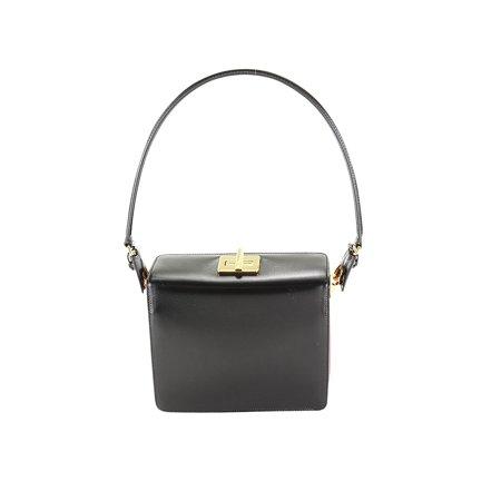 ecee4a6bdaa9 Prada - Prada Black Leather Womens Shoulder Bag - Walmart.com