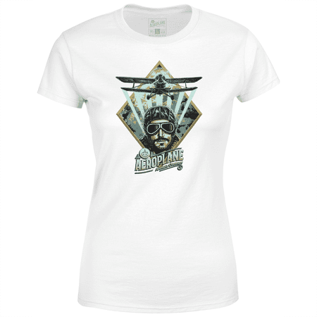 Barnstormer Aeroplane Apparel Ladies T-Shirt