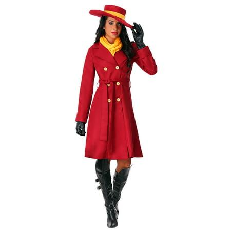 Women's Plus Carmen Sandiego Costume (Carmen Miranda Costume)