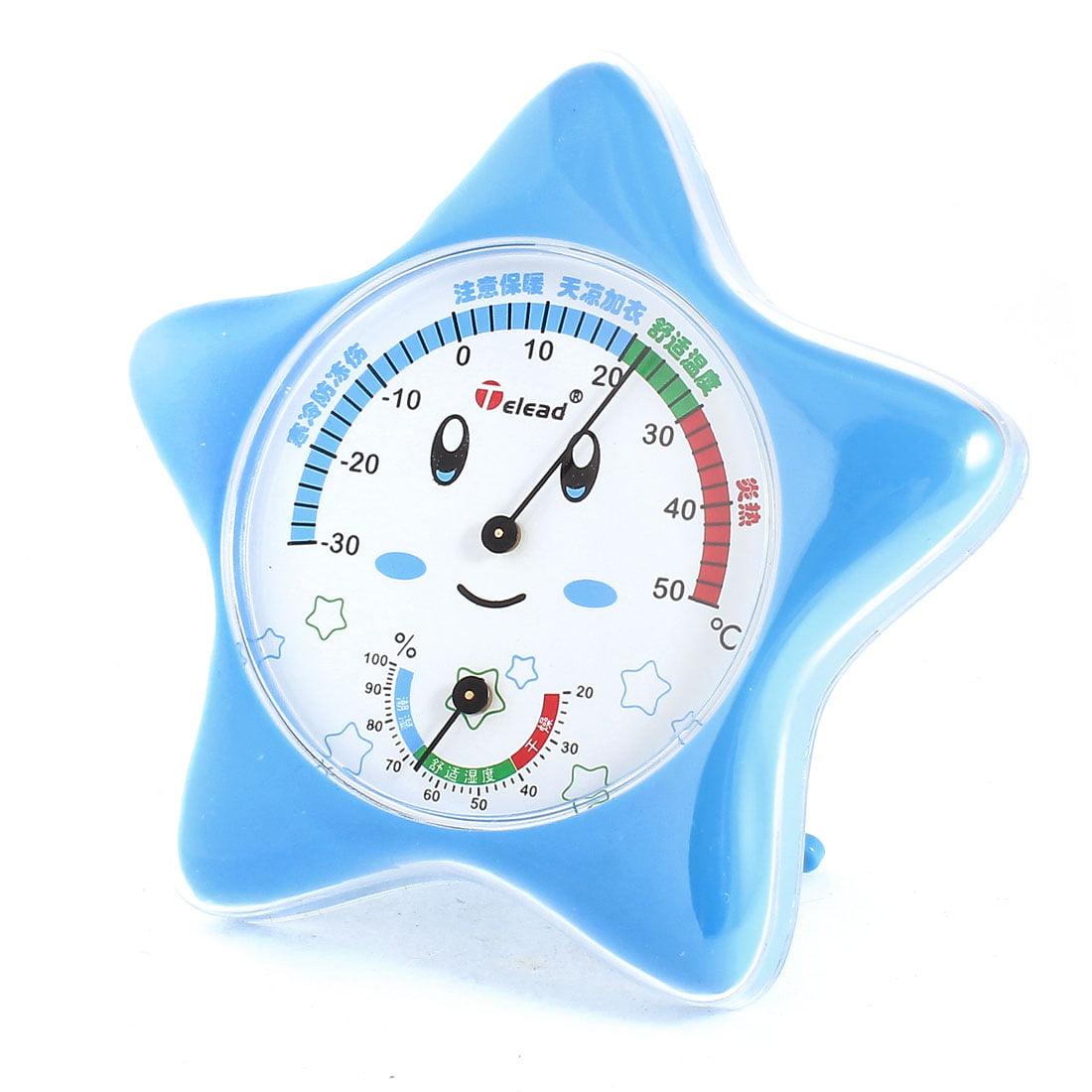 Plastic Standing Housing Temperature Humidity Testing Hygrometer Measuring Meter
