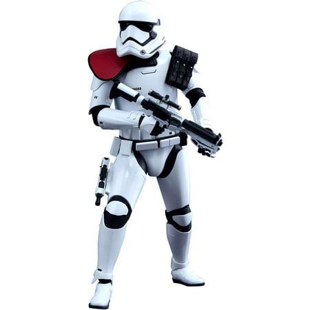 Star Wars Movie Masterpiece First Order Stormtrooper Officer Collectible Figure