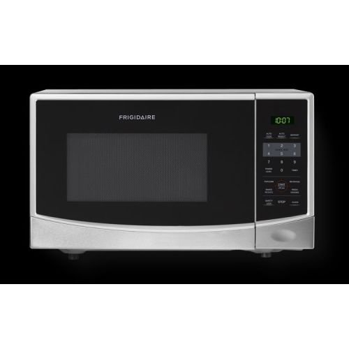 Frigidaire 0.9 Cu Ft 900W Countertop Microwave Oven, Stainless Steel