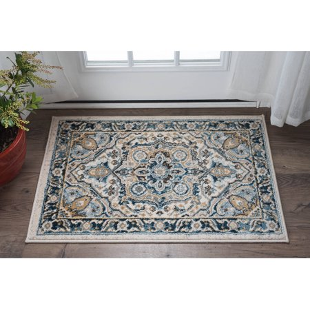 bliss rugs ailyn traditional area rug walmart 87751