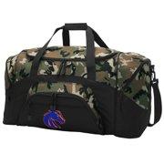 Broad Bay Boise State CAMO Duffel Bag Boise State GYM BAG