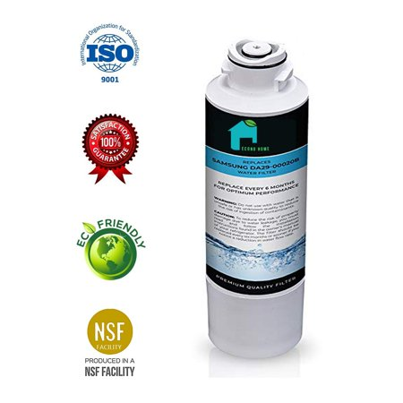 SAMSUNG DA29-00020B Refrigerator Water Filter | Also Works With some AQUA FRESH, WATER SENTINEL, KENMORE and side-By Side Fridge Appliances Models | By
