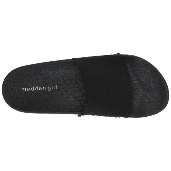 cacf2e8daa7 Madden Girl - Madden Girl Women s Zekee Slide Sandal - Walmart.com