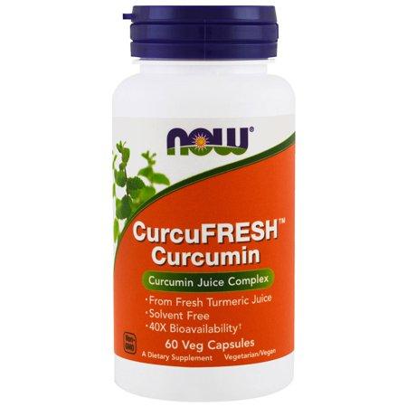 Now Foods  CurcuFresh Curcumin  60 Veggie
