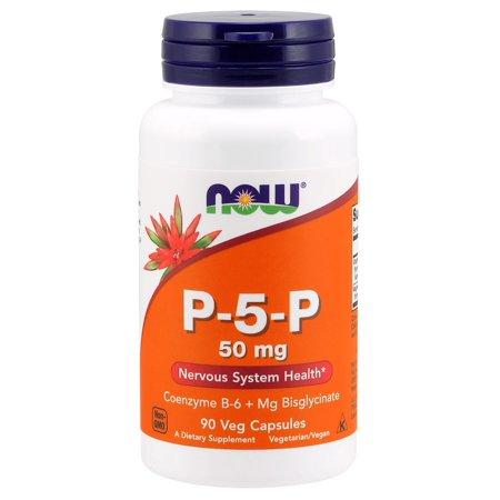 Now Foods P-5-P 50 mg - 90 Veg Capsules