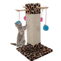 "UBesGoo 20""-72"" Cat Tree  Condo Furniture Scratching Post Pet Kitty Play House"