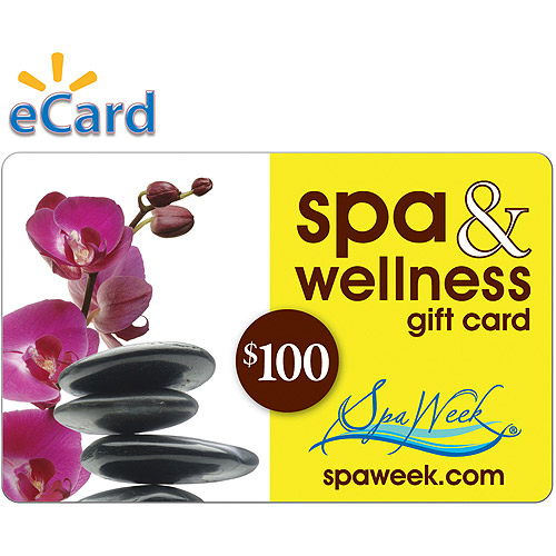 Spa and Wellness Gift Card by Spa Week $100 (Email Delivery)