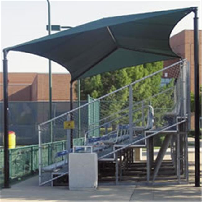 Click here to buy Sun Ports 1100716 Slanted Bleacher Covers Canopy 20 x 26 Canopy Shelters by Sun Ports.