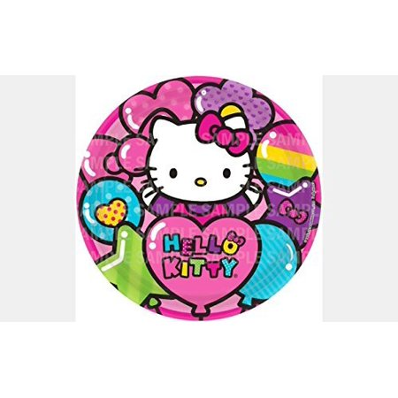 Hello Kitty Rainbow Balloon Edible Image Photo 8