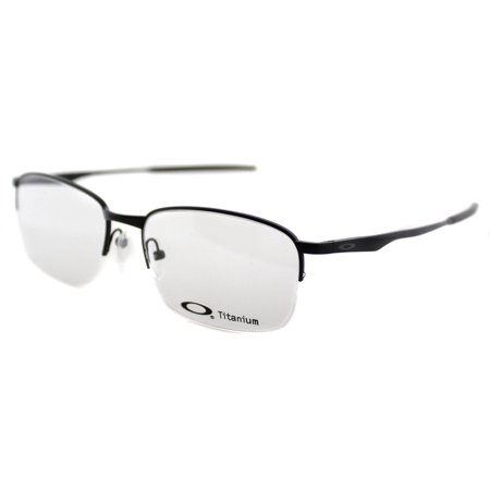 0788b603d08 ... Black Titanium Half- UPC 888392119612 product image for Oakley OX5101 1  Unisex Semi-Rimless Eyeglasses