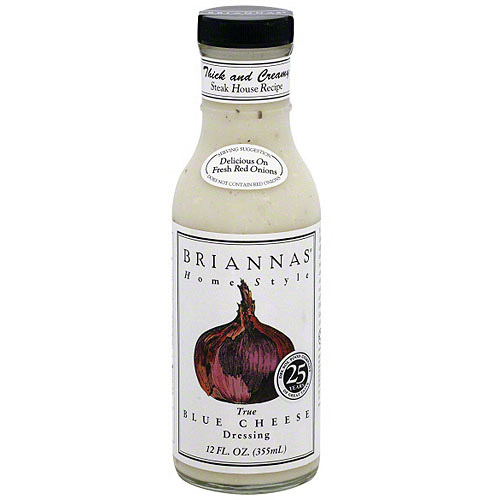 Brianna's True Blue Cheese Dressing, 12 oz (Pack of 6) by Generic