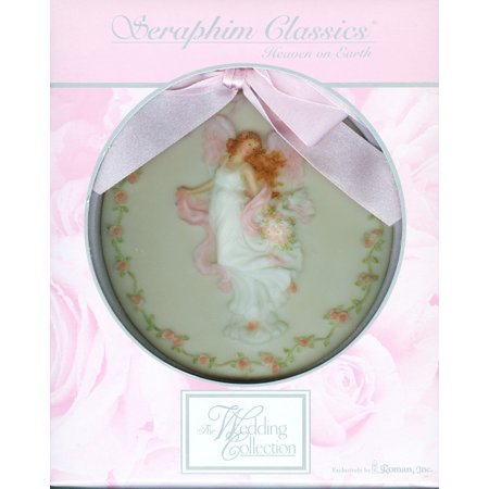 Seraphim Classics Heaven on Earth Harmony Disk Ornament, Seraphim Angels By Roman Seraphim Angel Ornaments