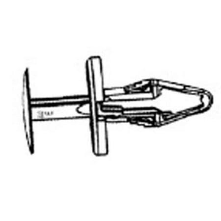 W & E Sales 3214 Plastic Push Rivet Cowl Vent and Bumper Fascia Retain, Gm-2002 and