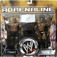 WWE Wrestling Adrenaline Series 18 Orlando Jordan & Bobby Lashley Action Figure 2-Pack