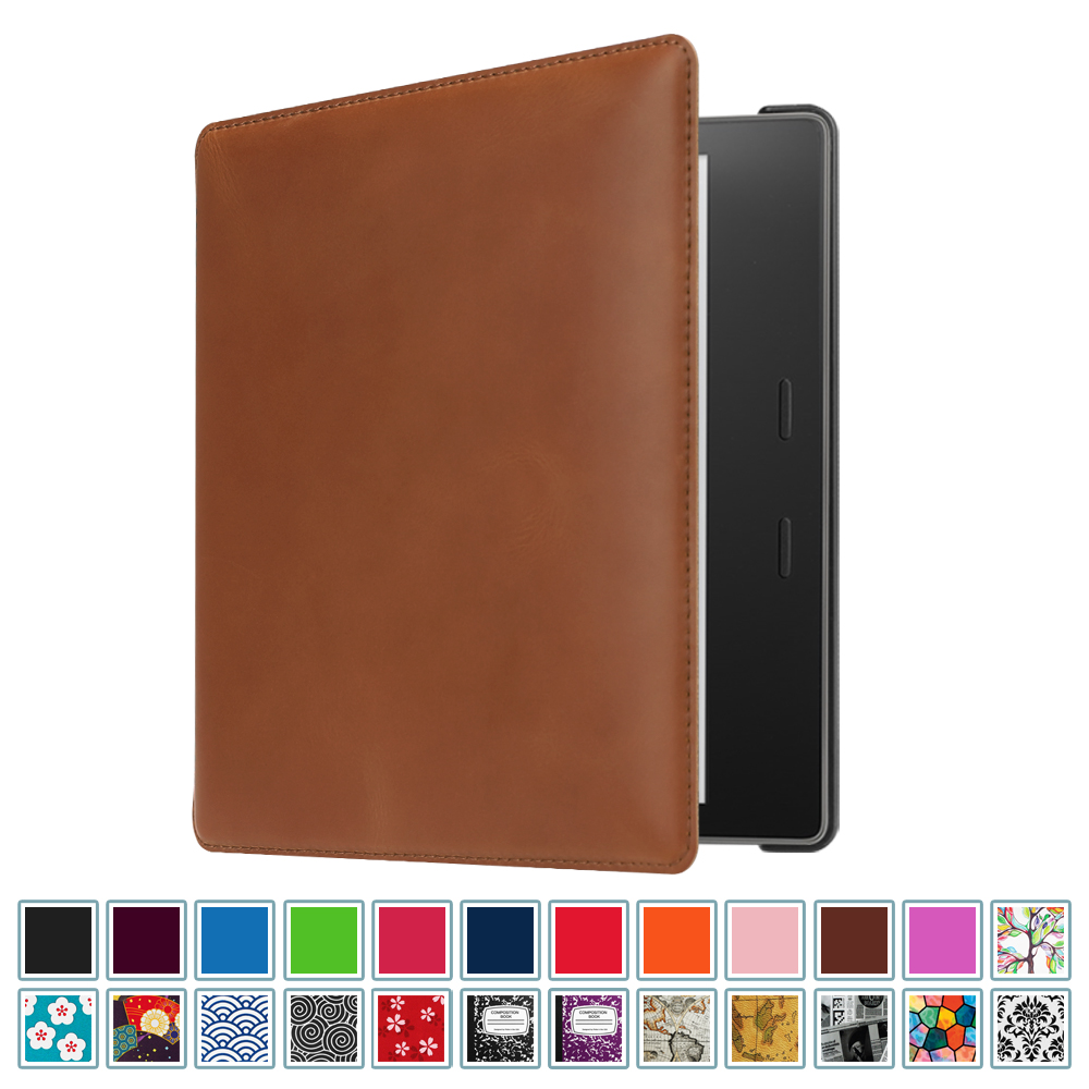 Fintie Leather Case for Kindle Oasis (9th Gen, 2017 Release)