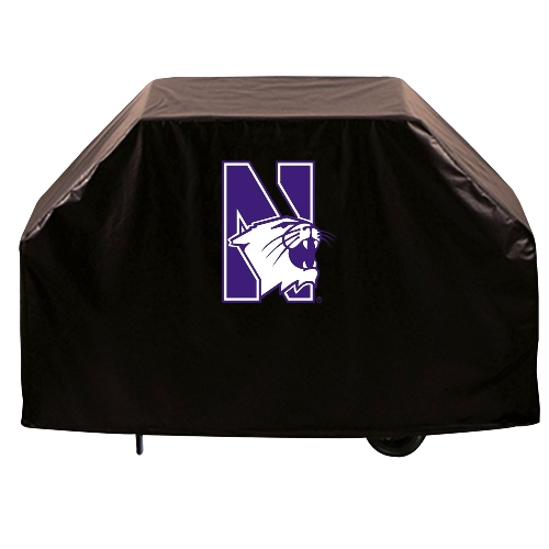 NCAA Grill Cover by Holland Bar Stool, 72'' - NU Wildcats