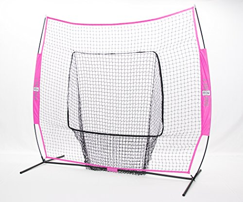 Bownet Big Mouth Colors 7' x 7' Training Sock Net with Fr...