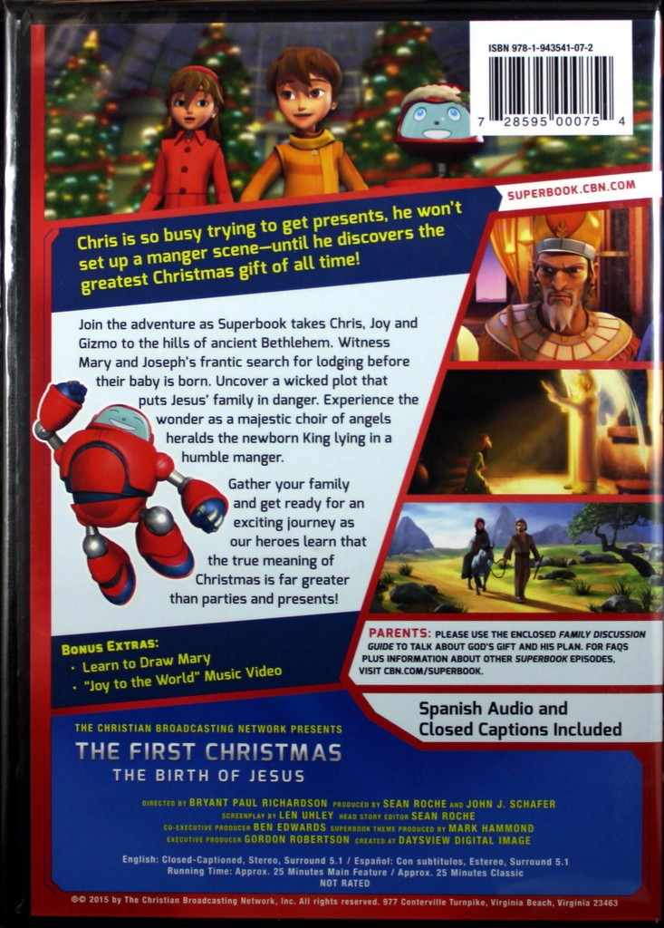 The First Christmas: The Birth Of Jesus - Walmart.com