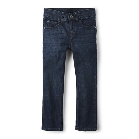 The Children's Place Boys 4-16 Straight Jeans