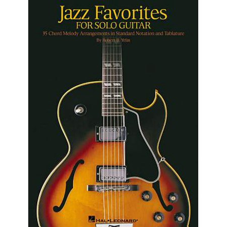 Solo Jazz Guitar Tabs (Jazz Favorites for Solo Guitar : Chord Melody Arrangements in Standard Notation and Tab)