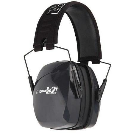 Howard Leight Leightning L2F Folding Hearing Earmuff 27 NRR R-01525