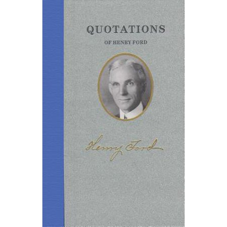 Quotations of Henry Ford - Halloween Henry Ford