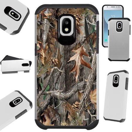 - Fusion Guard Phone Case Cover For Samsung Galaxy J3 (2018) | J3 Orbit | J3 Achieve | Express Prime 3 (Tree Camo)