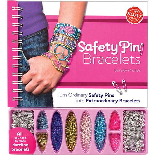 Klutz Safety Pin Bracelet Book Kit