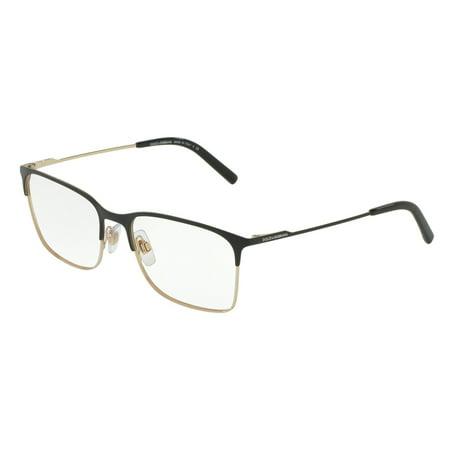 Dolce & Gabbana 0DG1289 Optical Pillow Unisex Eyeglasses - Size 54 (Matte Black/Pale (Dolce & Gabana Glasses)