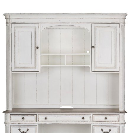 Liberty Furniture Magnolia Manor Jr Executive Credenza Hutch