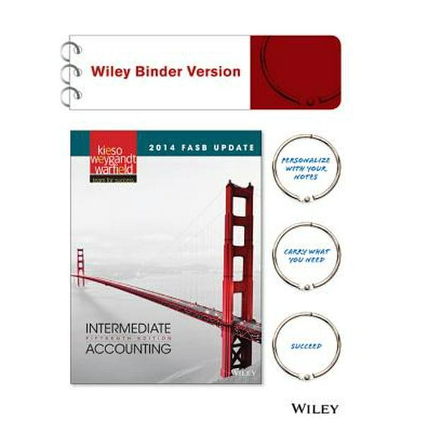 2014 FASB Update Intermediate Accounting, Binder Ready