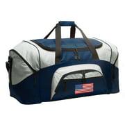 USA Flag Duffle Bags or American Flag Luggage
