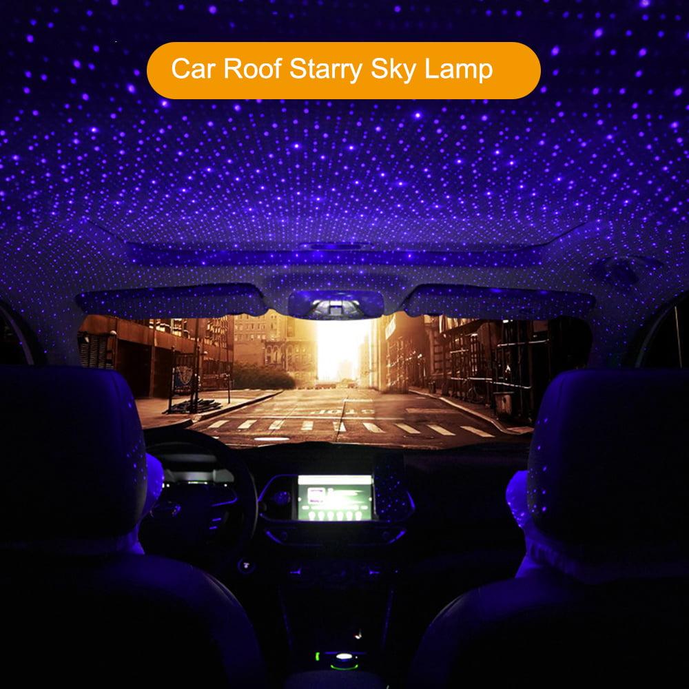 Car Star Night Light Romantic Auto Rotatable Roof Lamp Car Portable Adjustable Angle Usb Projector Night Light Interior Decoration Walmart Canada