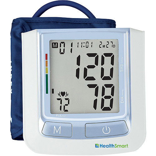 MABIS 04-610-001 HealthSmart Standard Semi-Automatic Arm Digital Blood Pressure Monitor