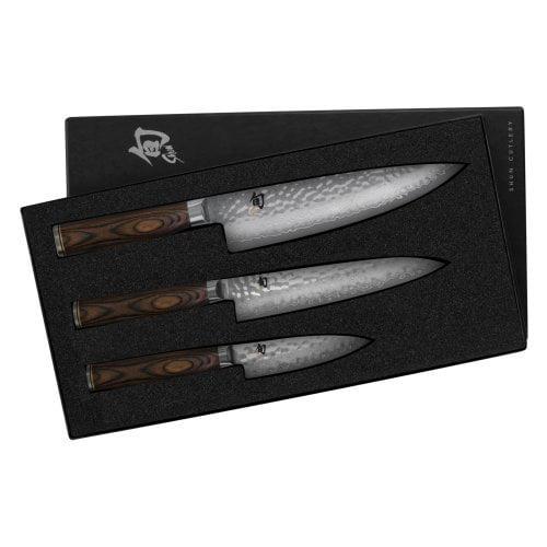Shun TDMS0300 3-Piece Premier Knife Starter Set (TDMS0300)
